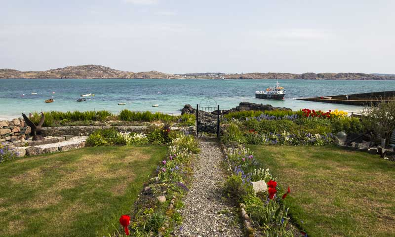 not a bad view from your garden in Iona