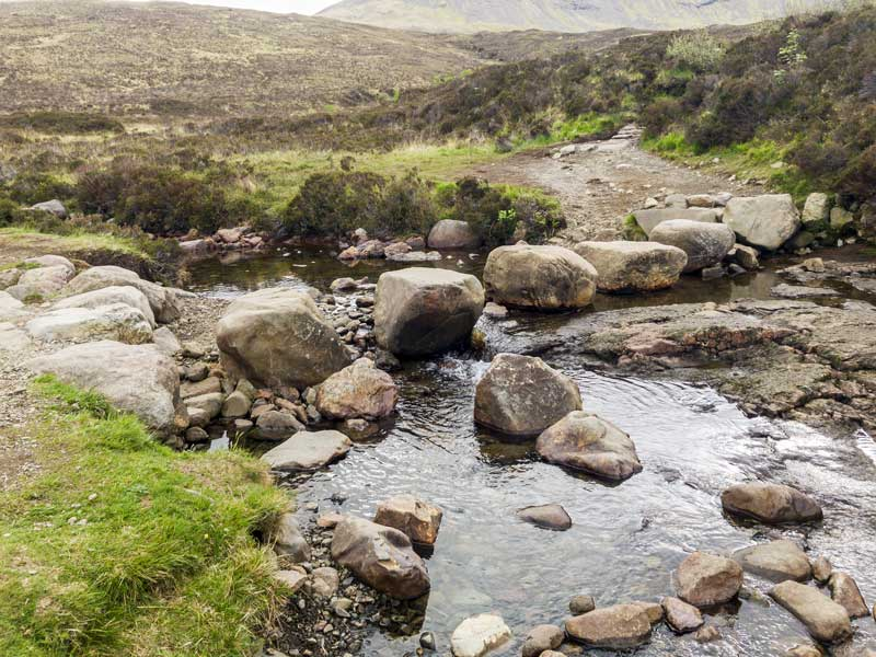 the simplest of rock bridges