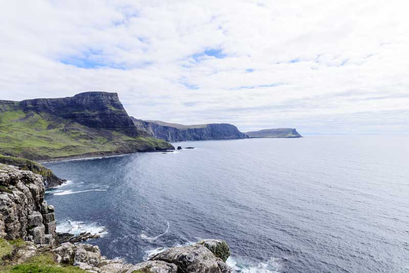 epic coastal views from Neist Point