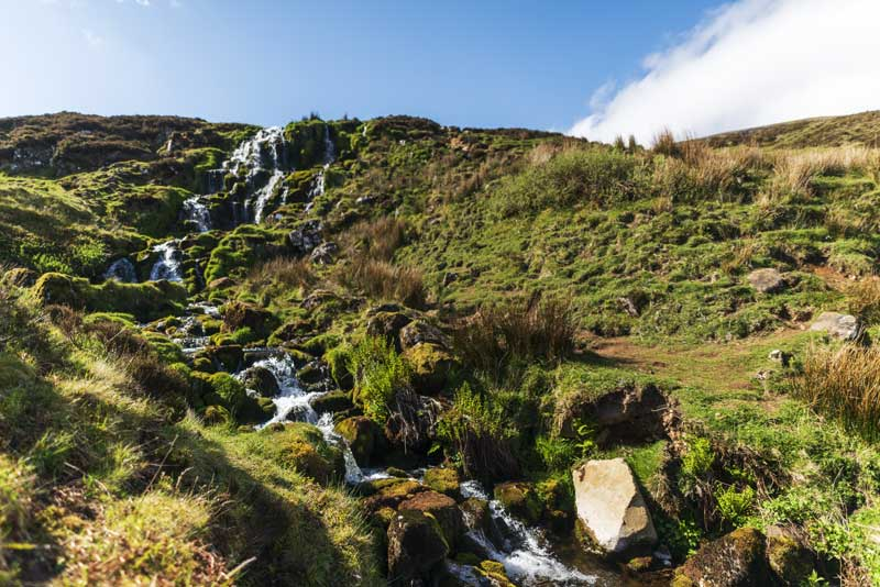 more waterfalls near The Old Man of Storr