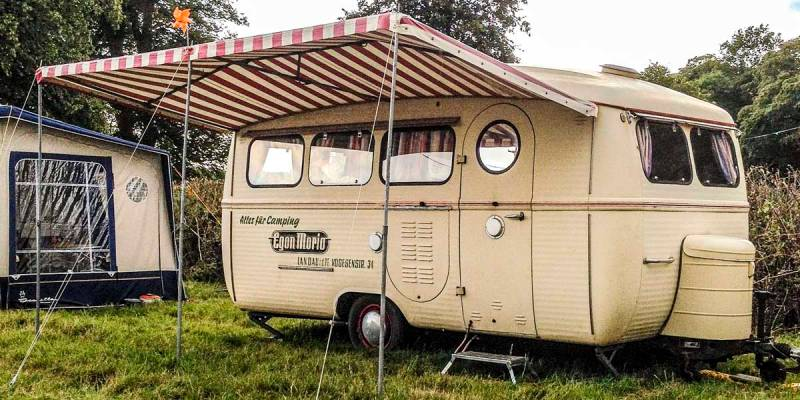 super cool Westfalia caravan