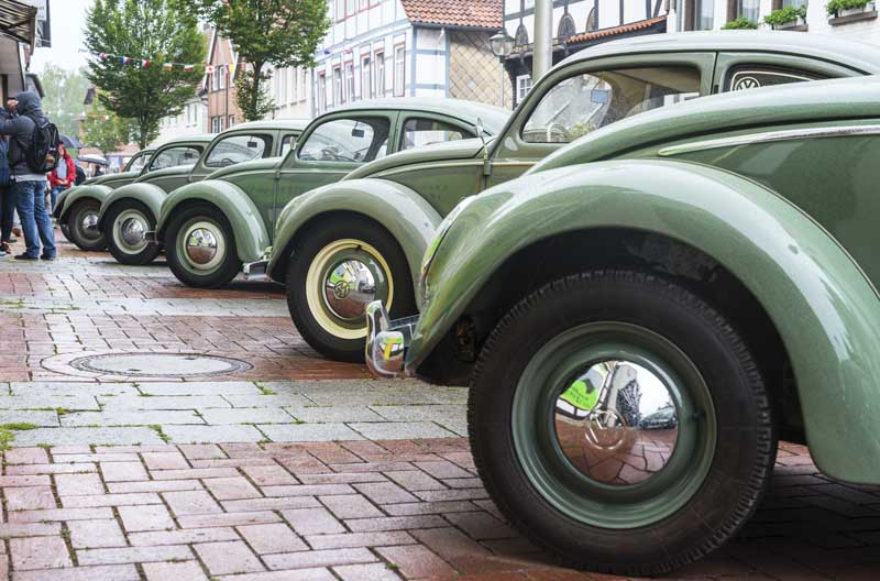 plenty of subtle shades of vintage green all in a row