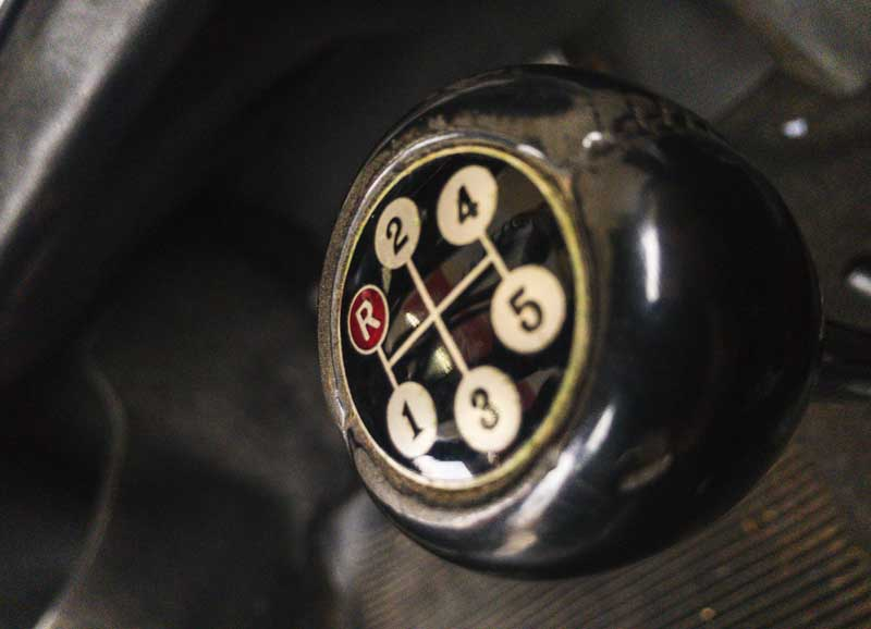 nicely aged Amco accessory gear knob