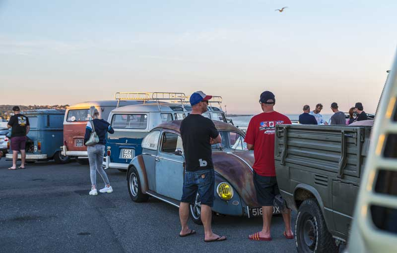 good varied air-cooled attendance on a summers evening