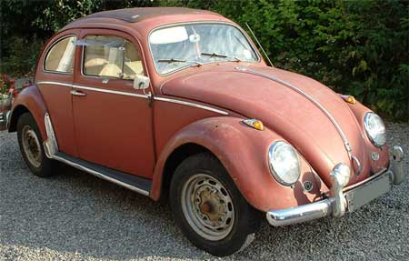 My favourite (still missed!) 1960 RHD 'Golde' Ragtop Volkswagen Beetle