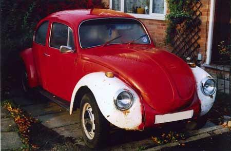 My second Volkswagen Beetle, a 1972 RHD project 1302s