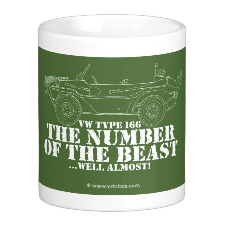 the number of the beast… well almost Mug