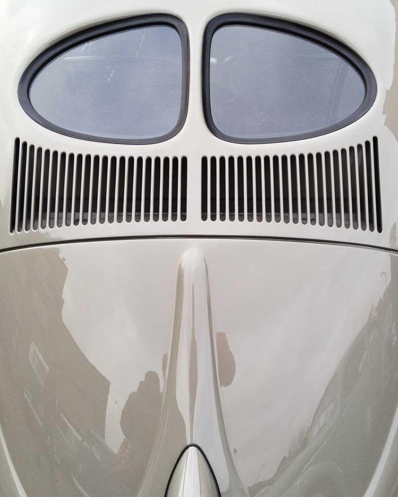 sharp looking air ride split window bug