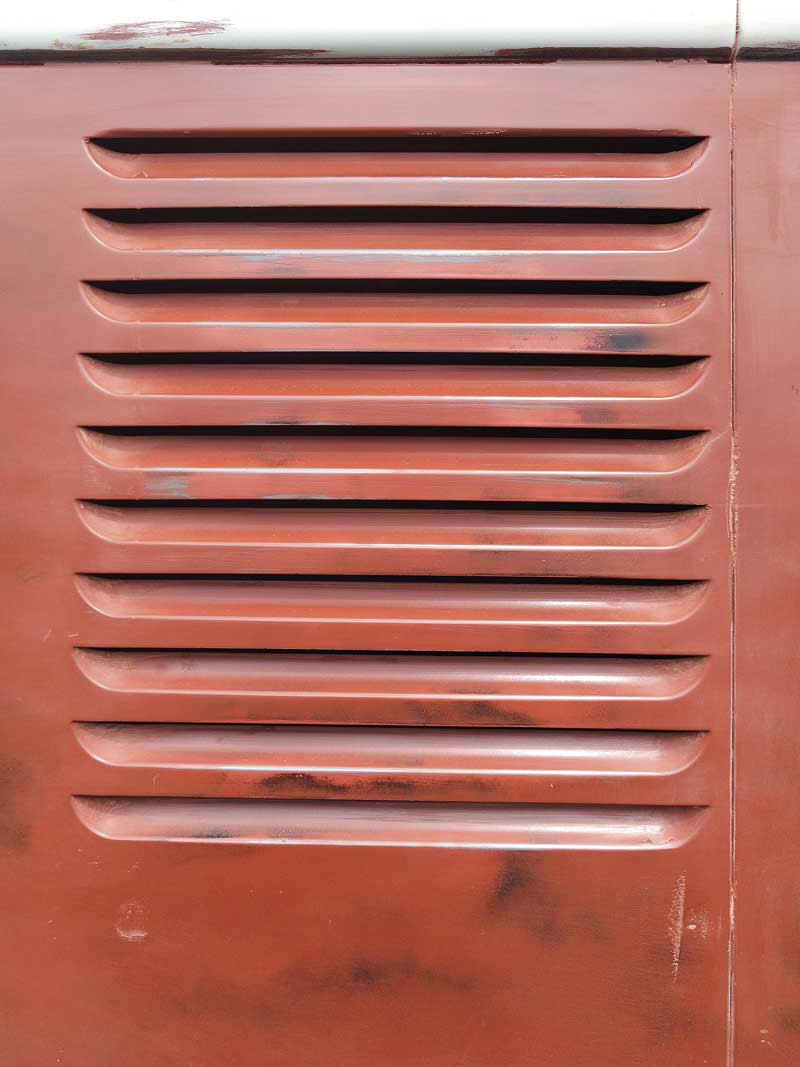 beautiful patina and VW factory panel gaps