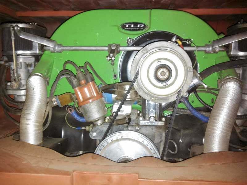 the Two Larry's Racing 1907cc engine that was originally in the bus