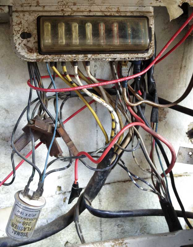 the original electrics will need checking over to make sure all is good