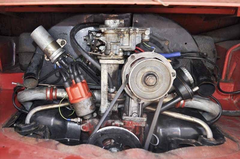 original 1641cc engine ready for a refresh