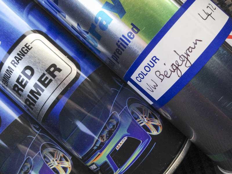 new paint supplies of the original L472 (Beige Grey/Beigegrau)