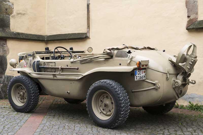 super tidy type 166 Schwimmwagen