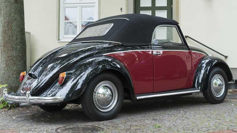 Volkswagen Type 14A – Hebmüller Cabriolet