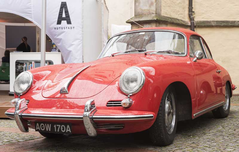 iconic classic early Porsche 356