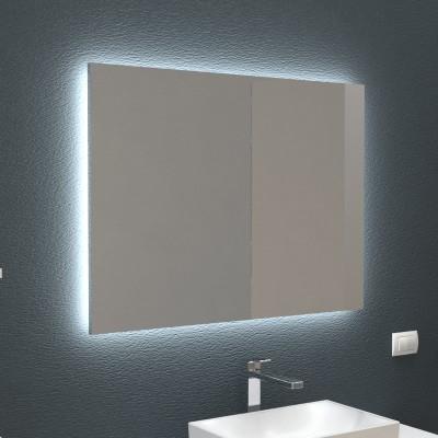 Miroir Retro Eclaire Pour Salle De Bain Et Maison