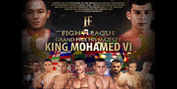 Fight League 7 Grand Prix Koning Mohammed VI 5 augustus Tangiers, Marokko
