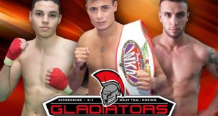 Gladiators Fight Night XVIII beschikt over een 17 gevechten internationale fight card.