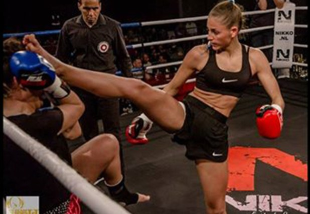 Interview Kickboks en Muay Thai super talent Georgina van der Linden