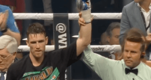 "World Boxing Super Series:""Callum Smith onttroont George Grooves via knock-out'"