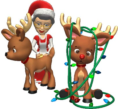 Png Xmas Cartoon Characters For Photoshop