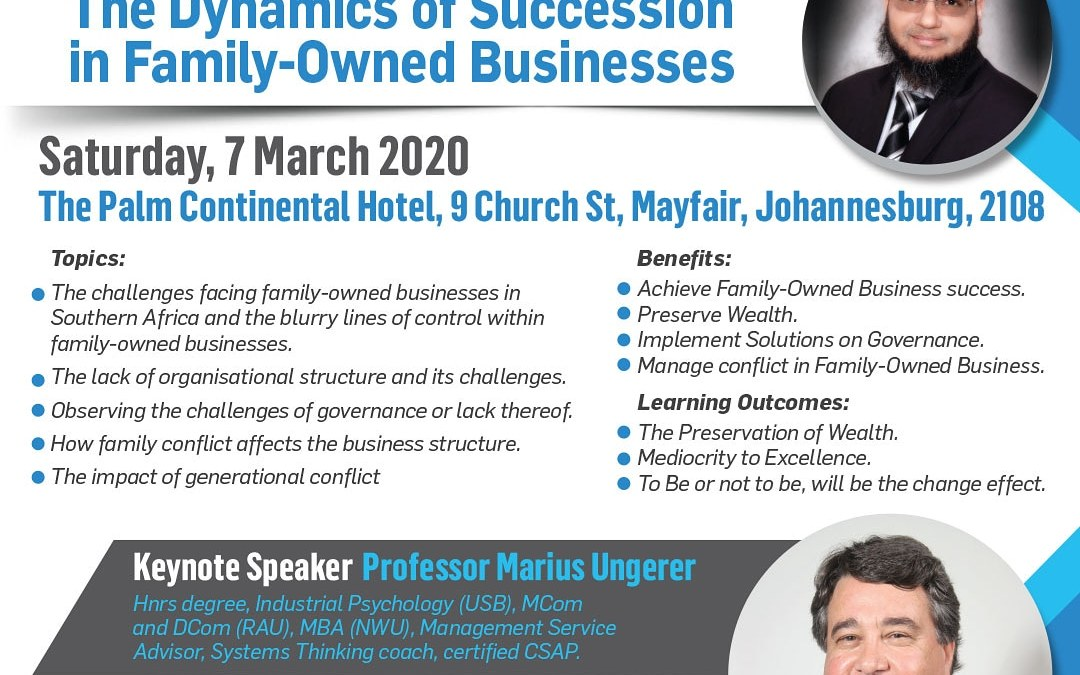 Dynamics of Succession in Family-Owned Businesses | Johannesburg