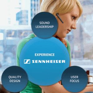 Sennheisor Office Telephone Headset Dubai