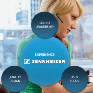 Sennheisor Office Telephone Headset Dubai