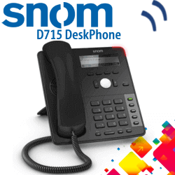 Snom D715 IP Phone Dubai | Snom IP Phone Dubai