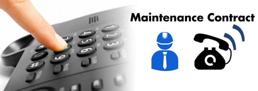 Telephone Maintenance Contract Dubai
