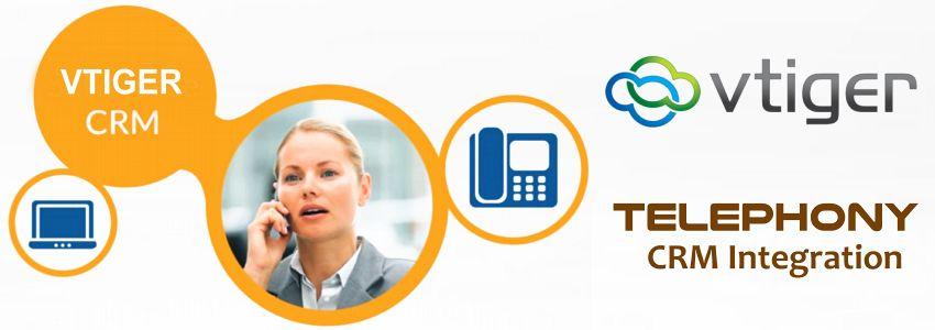 Telephone Vtiger CRM Integration