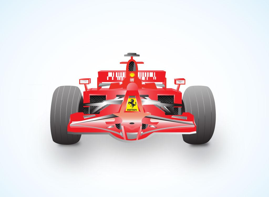 F1 Car Clipart