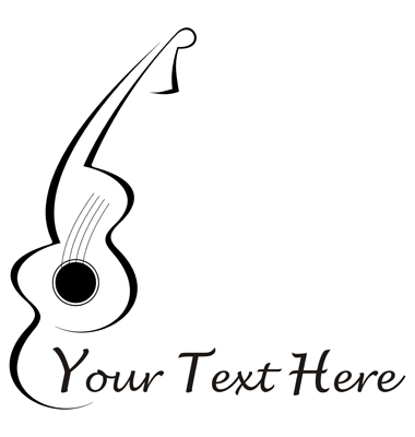 Guitar Tattoo Vector. Artist: jazzia; File type: Vector EPS
