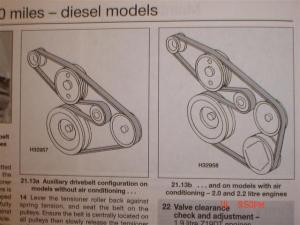 dti alternator belt help