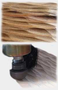 Efficient Texture Toolpath