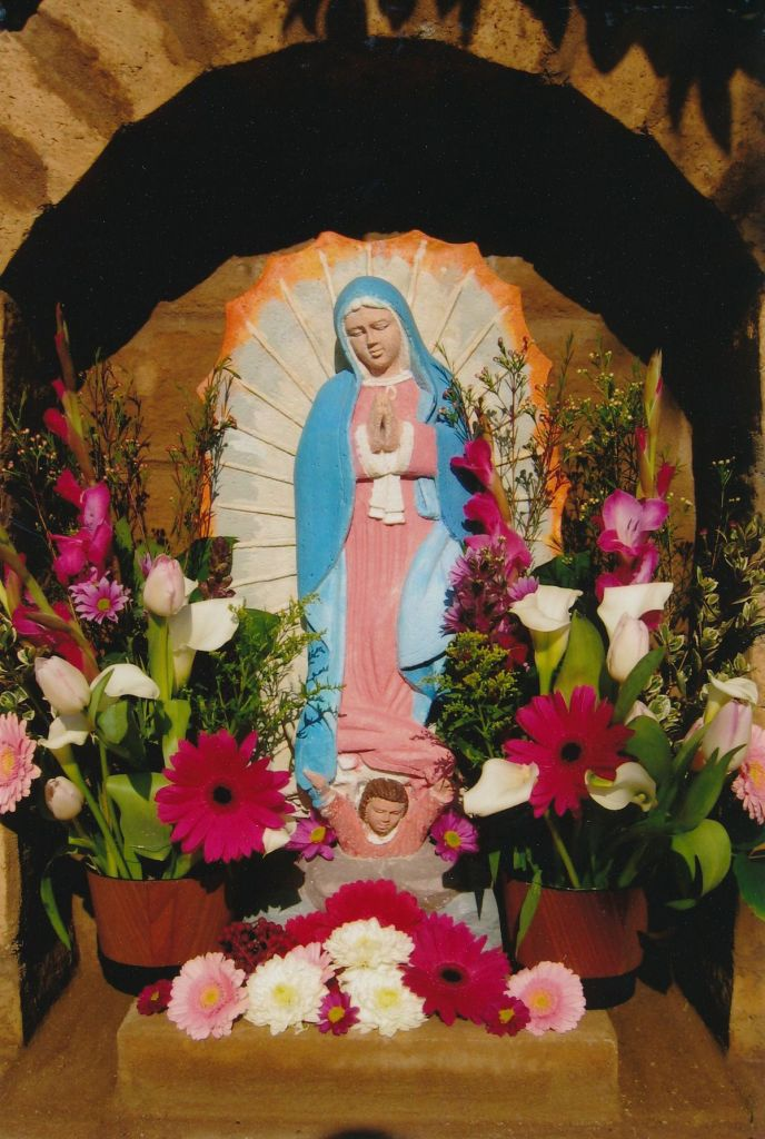 12 - Vedanta Society of Sacramento - Garden of Saints - Virgin Mary 3