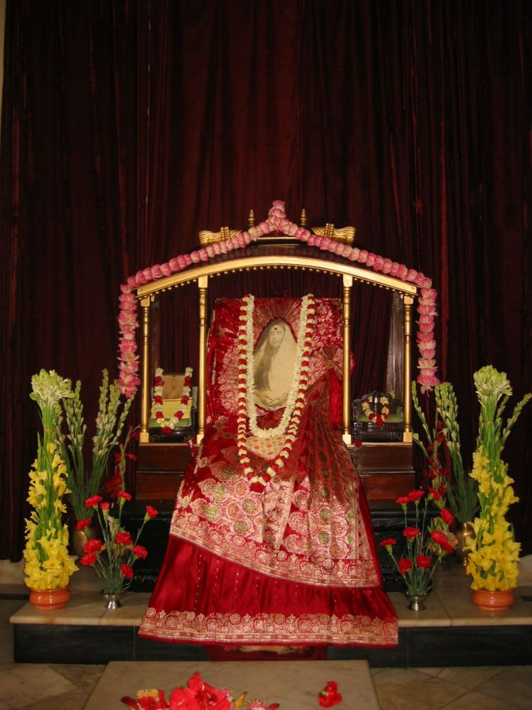 12 Holy Mother Sarada Devi at Belur Math - Photo 1.JPG