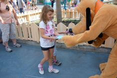 Hayley with Pluto