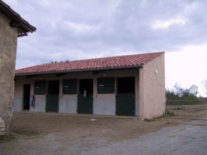 Couverture Albi : Couverture Box à Chevaux Centre Equestre Lavaziere