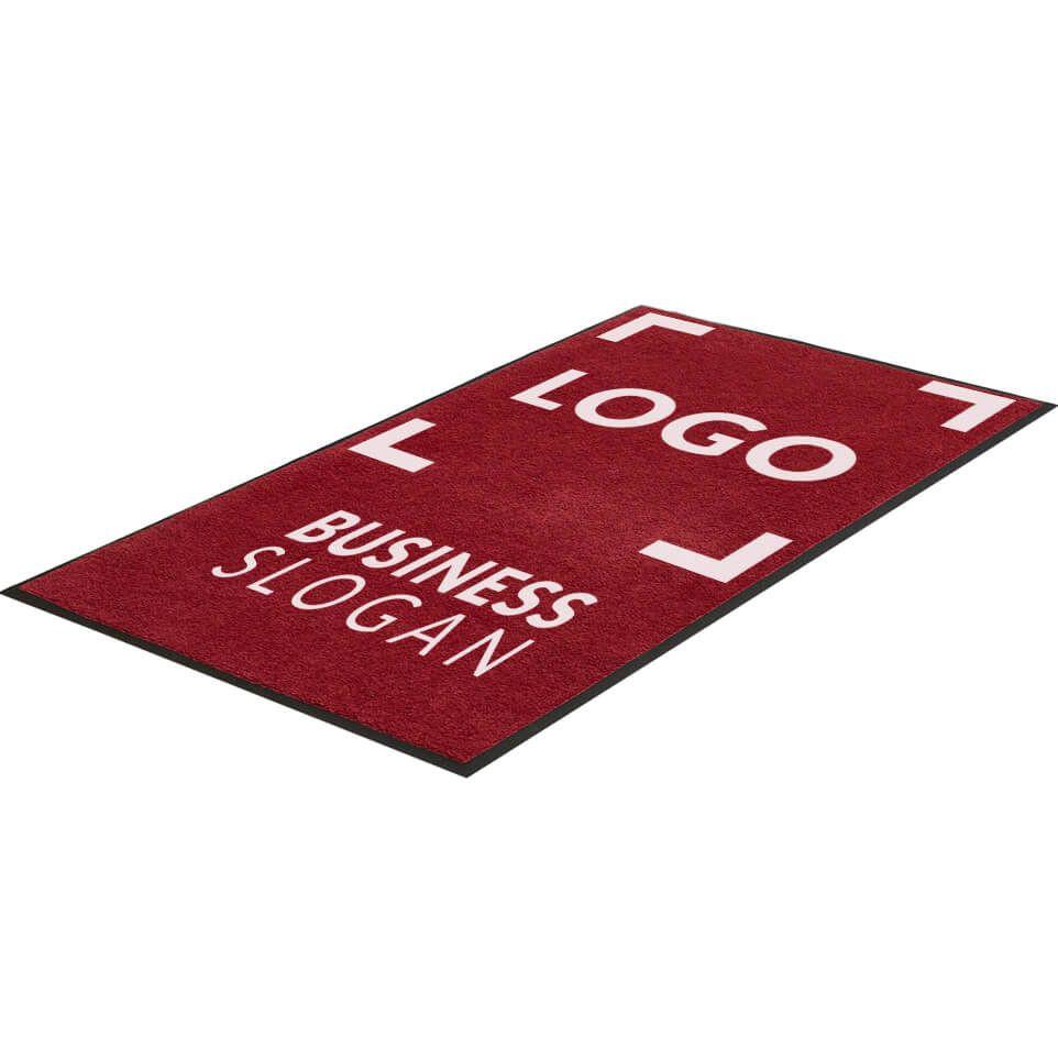 tapis d entree personnalise format sur mesure