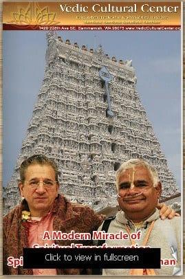 A Modern Miracle of Spiritual Transformation - Spiritual Epiphany of Sethu Raman
