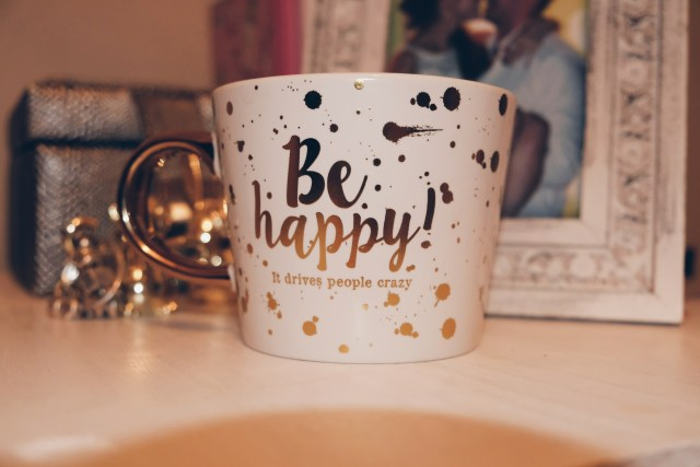 May Favourite Be happy Mug