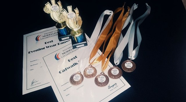 Medals, certificates and trophies