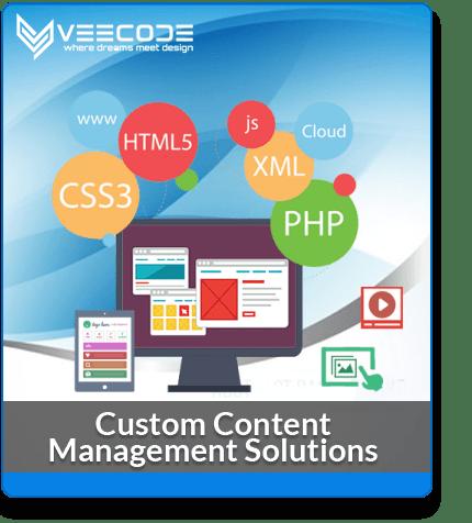 Veecode Custom Cotent Management Solutions