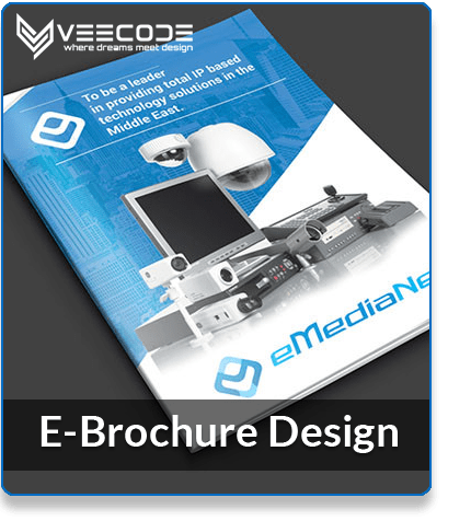 Veecode E-Brochure Design