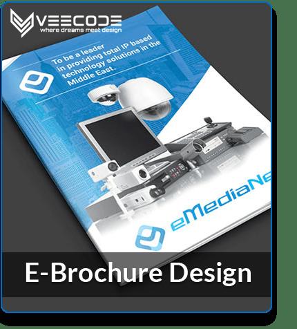 Veecode E-Brochure Design