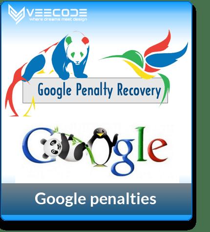 Veecode google- penalties