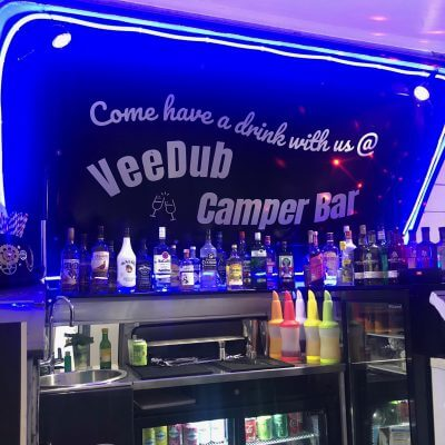 VW Camper Van Mobile Bar