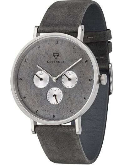Kerbholz-caspar-urban-slate-dark-grey-horloge-4251240405919-grijze-leren-band-leisteen-wijzerplaat